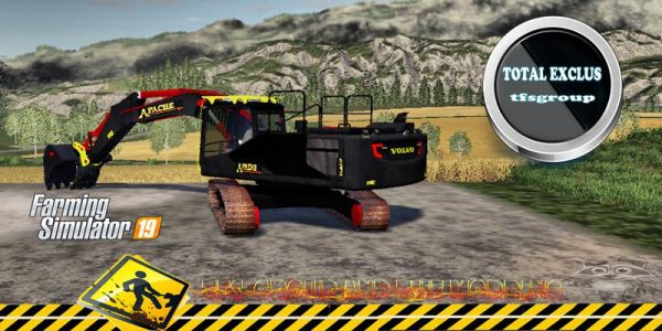 FS19 APACHE DEMOLITION COMPAGNY TFSGROUP V1 0 • Farming