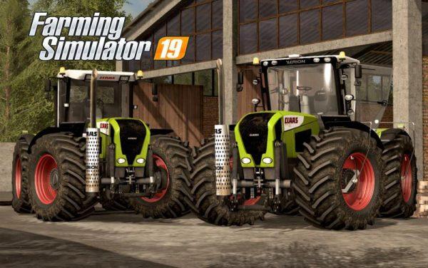 FS19 CLAAS XERION 3300/3800 V2 0 • Farming simulator 19, 17