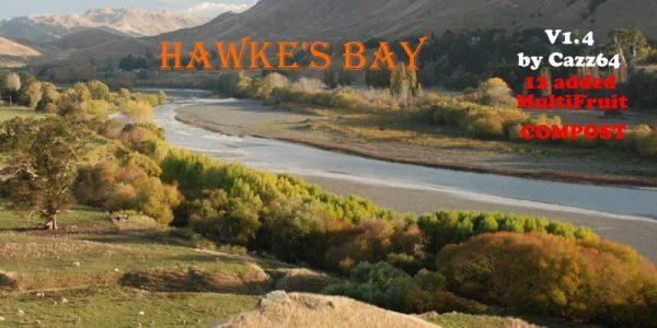 FS19 HAWKE'S BAY NZ MAP V1 4 • Farming simulator 19, 17, 15 mods