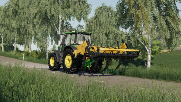 FS19 ALPEGO SUPERCRAKER K7-350 V0 9 9 1 • Farming simulator
