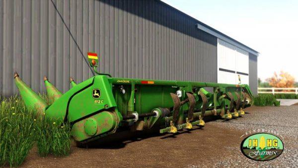FS19 JOHN DEERE 612C/712C OFFICIAL V2 0 0 0 • Farming simulator 19