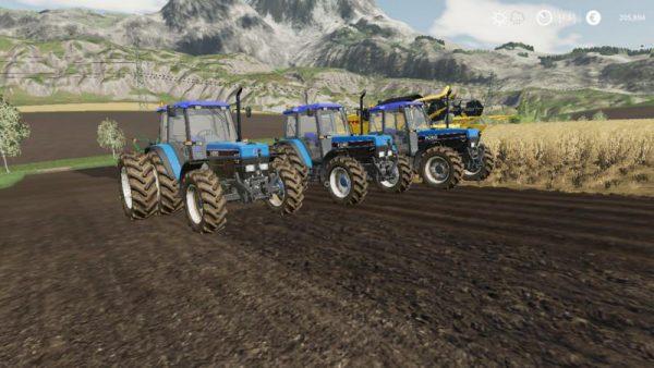 FS19 FORD NEW HOLLAND 40-SERIE PACK V1 0 • Farming simulator 19, 17