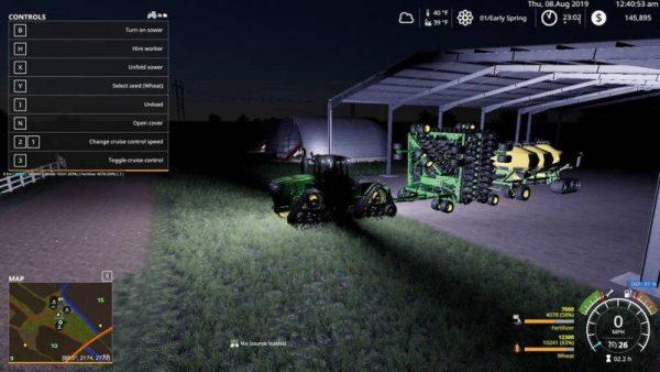 FS19 JOHN DEERE BALE BARN V1 0 0 0 • Farming simulator 19