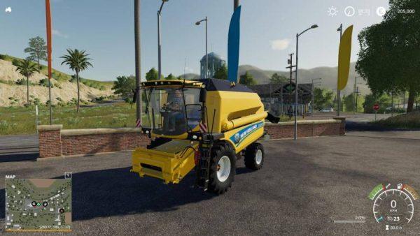 FS19 NEW HOLLAND TC 5 90 - LIGHT EXTENSION V1 0 • Farming