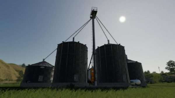 FS19 US GRAIN SILO COMPLEX WITH DRYER V1 1 • Farming
