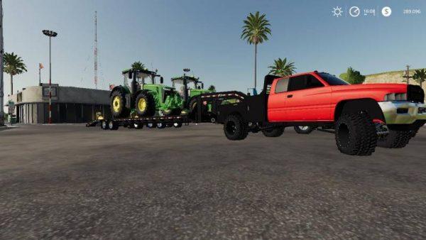 fs19 dodge ram 2500 flatbed v1 1  u2022 farming simulator 19  17  15 mods