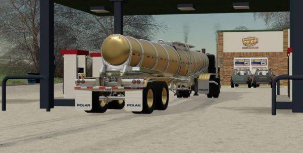 Fs19 Polar Deep Drop Tanker V1 0 0 0 Farming Simulator 19 17 15 Mods Fs19 17 15 Mods